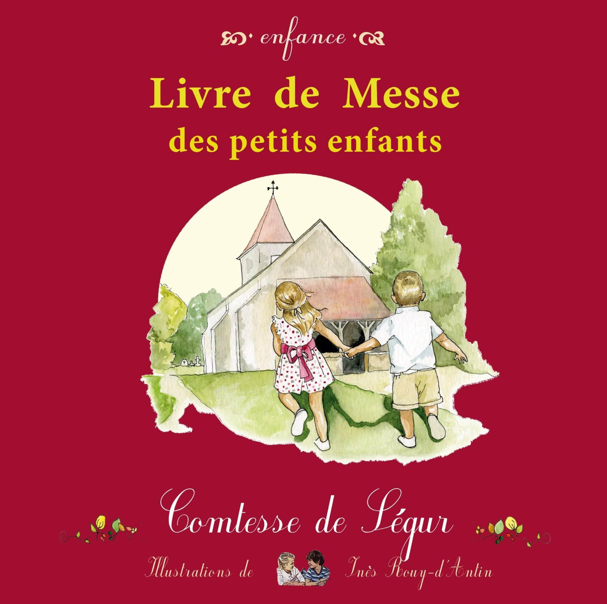 Couverture livre de messe des petits enfants