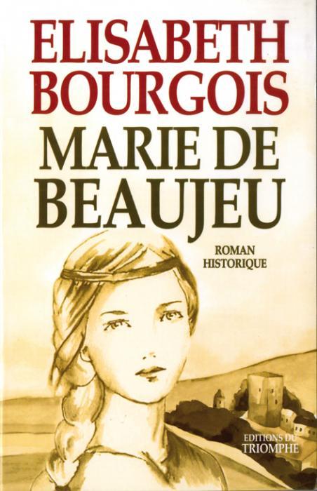 Couverture livre Marie de Beaujeu