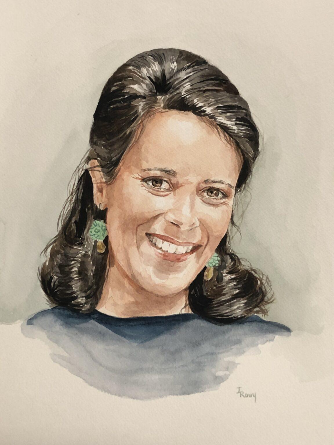 Autoportrait d'Inès Rouy